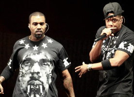 Kanye West e Jay-Z: os novos astros do rock