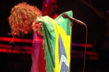 Onde você estava no primeiro show do Pearl Jam no Brasil?