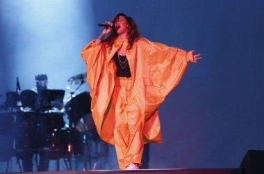 Caô de Rihanna no Rock in Rio 40 Graus