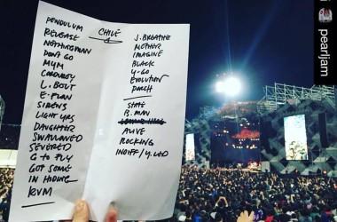 Set list do Pearl Jam no Chile: o que os fãs brasileiros podem esperar
