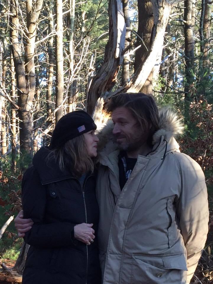 Susan e Evan 2017 (arquivo pessoal Susan Dando)