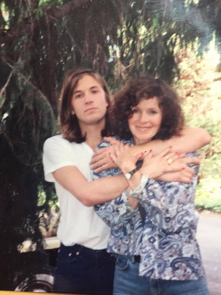 Evan e Susan (arquivo pessoal Susan Dando)