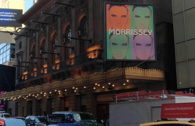 Morrissey (e eu) na Broadway