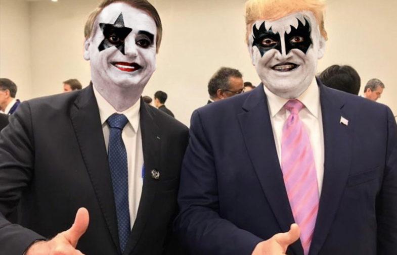 Vai embora: um hino rockn'roll pelo impeachment